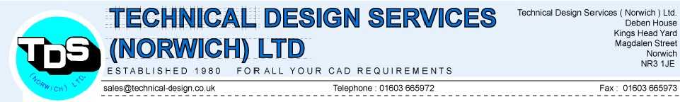 Welcome to TDS (Technical Design Services (Norwich) Limited).